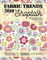 Fabric Trends 2019 Shoptalk - July