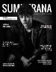 SUMMERANA MAGAZINE | JULY 2019 | THE