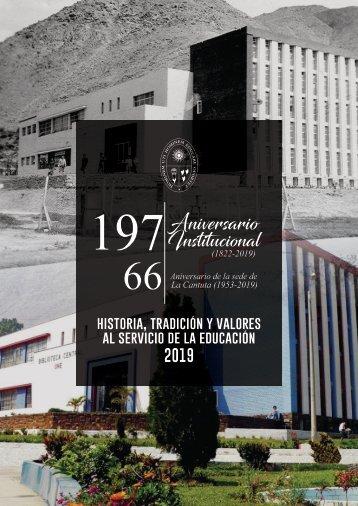 boletin 197 aniversario de la UNE