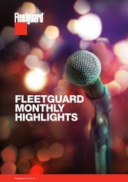 Fleetguard Australia Highlights - June 2019