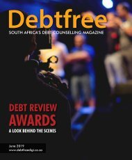 Debtfree Magazine June 2019