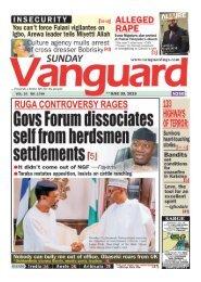 30062019 - Gov forum dissociates self from herdsmen settlements