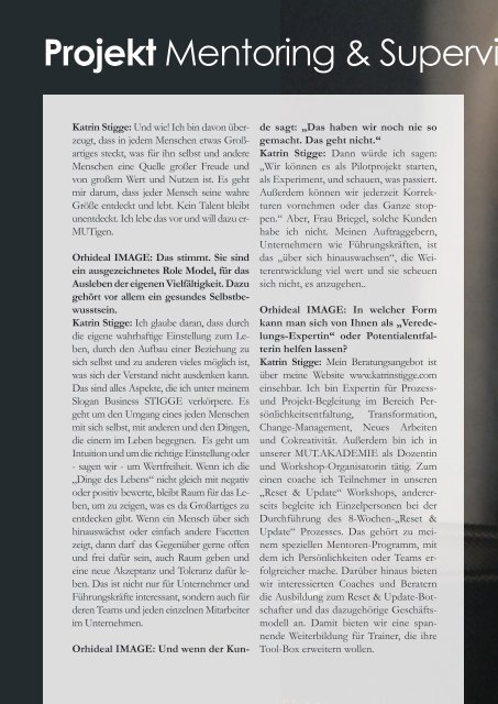 Orhideal IMAGE Magazin - Juli 2019
