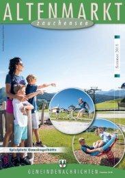Gemeindezeitung Altenmarkt Sommer 2019