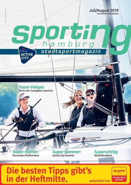 sporting hamburg  JULI / AUG 2019