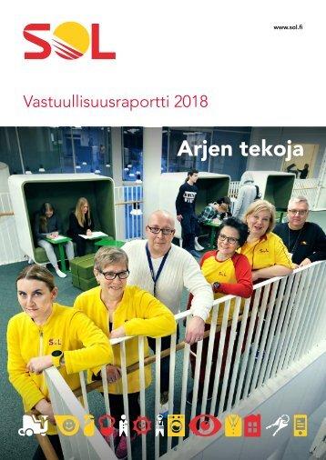 SOL Vastuullisuusraportti 2018