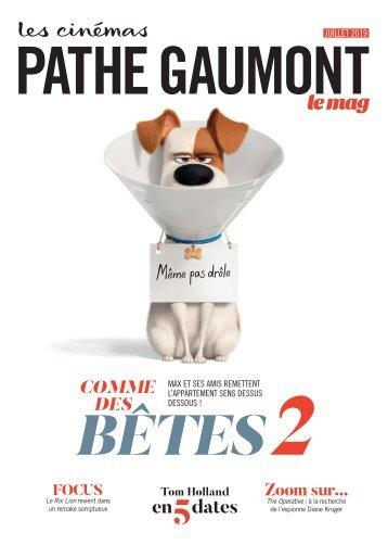 Les Cinémas Pathé Gaumont - Le mag - Juillet 2019