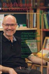 Buddhismus in Österreich - Ausgabe Juli bis September 2019