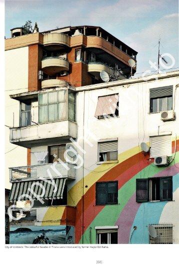 Tirana - The city of colours