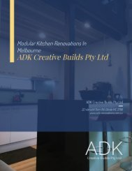 Transform and Customise Your Kitchen with The Right Kitchen Renovation Services