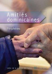 Amitiés Dominicaines 83