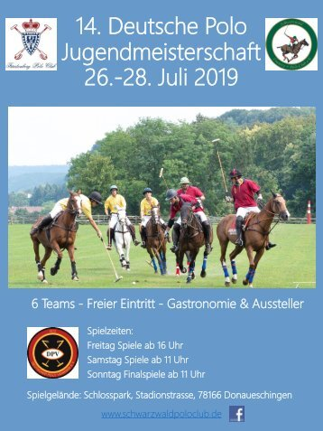 Deutsche Polo Jugendmeisterschaft 2019
