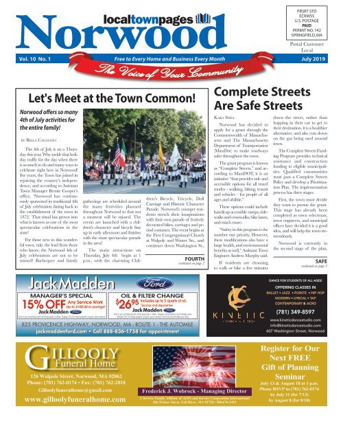 Norwood July 2019