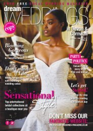 Dream Weddings Magazine - Devon & Cornwall - issue.32