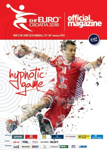EHF EURO Croatia 2018 Official Magazine