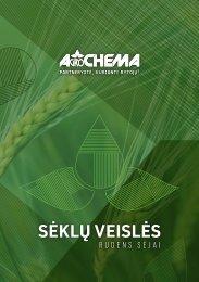 AGROCHEMA sėklų veislės rudens sėjai 2019