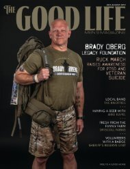 The Good Life Men's Magazine - July/August 2019