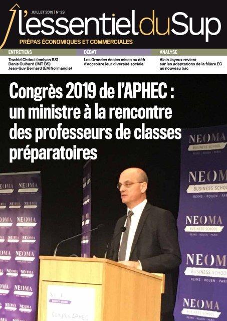 Essentiel Prépas Hors-Série n°6 -  juillet 2019