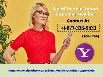 Need To Help Yahoo Mail Customer Support Number USA 1877-503-0107