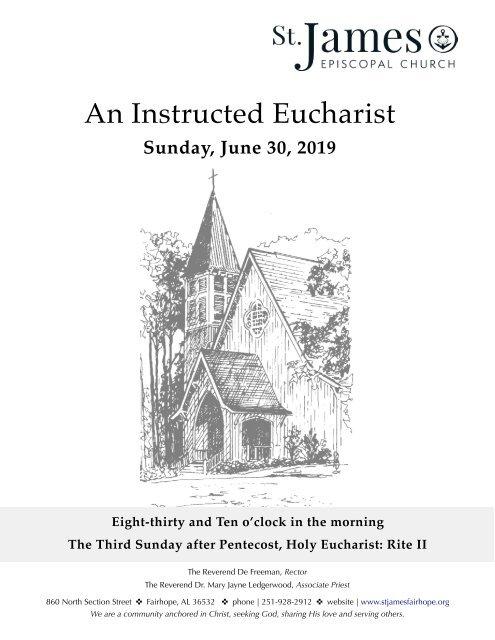 Instructed Eucharist June 30, 2019, 3 Pentecost PDF