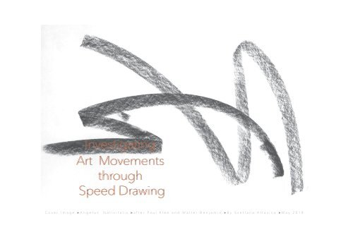 Investigating Art Movements through Speed Drawing