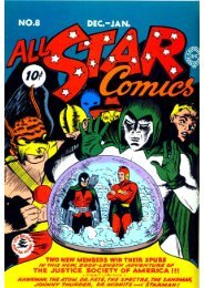 ALL STAR comics-N°8 -1941