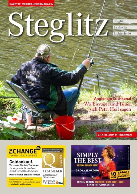 Gazette Steglitz Juli 2019