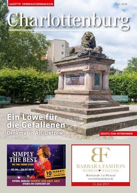 Gazette Charlottenburg Juli 2019