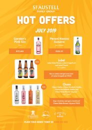 Tenanted Special Offers Brochure July - Aug 2019