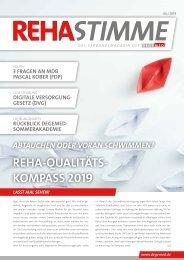 RehaStimme, Juli-Ausgabe 2019