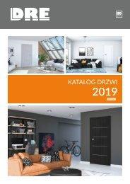 DRE katalog drzwi 2019