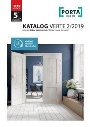 PORTA katalog drzwi VERTE 2019