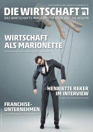 Die Wirtschaft Köln - Ausgabe 04 / 2019