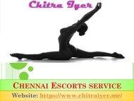 Chennai Escort Girls with Broad-Minded Thinking