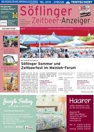 Söflinger Anzeiger Sommer 2019