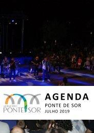Agenda Ponte de Sor - julho 2019