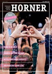 HORNER Magazin | Juli-August 2019