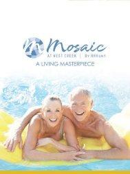 Mosaic At West Creek Brochure