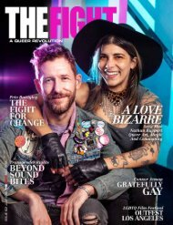 THE FIGHT SOCAL'S LGBTQ MONTHLY MAGAZINE JULY 2019