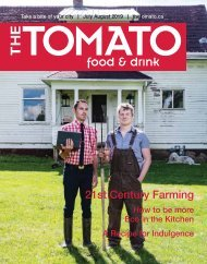The Tomato Food and Drink July-August 2019