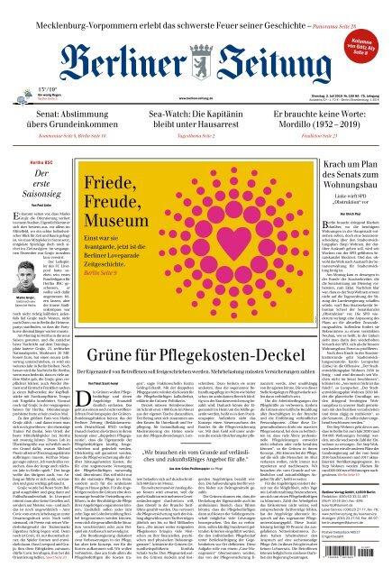 Berliner Zeitung 02.07.2019