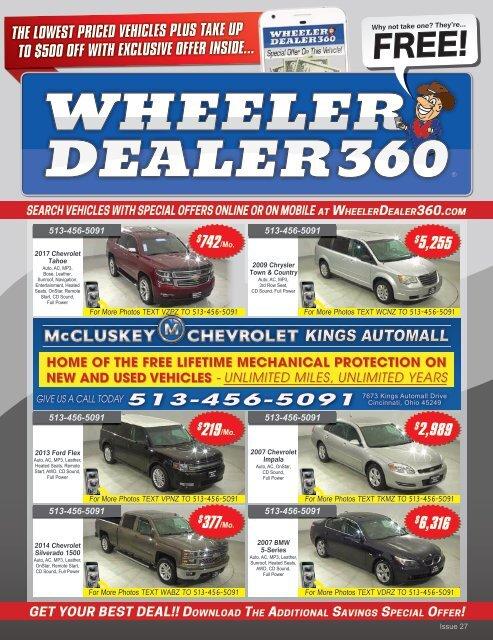 Wheeler Dealer 360 Issue 27, 2019