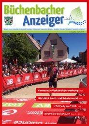 Juli 2019 - Büchenbacher Anzeiger