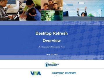 Desktop Refresh Overview - the Virginia Information Technologies ...