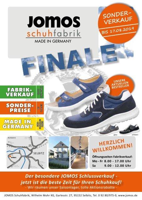 Jomos Schuhfabrik - 06.07.2019