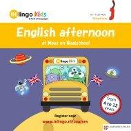 Engels op school 2019-2020 - IN.lingo @ Maas en Waal
