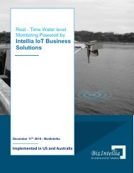 Real Time Water Level Monitoring Casestudy