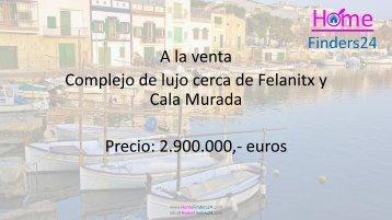 En venta finca con piscina y cancha de tenis entre Felanitx y Portocolom (LUX0030)