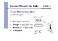Kurt Aufdereggen - oeku Kirche und Umwelt
