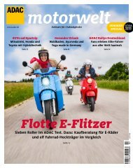 ADAC Motorwelt Juli/August 2019